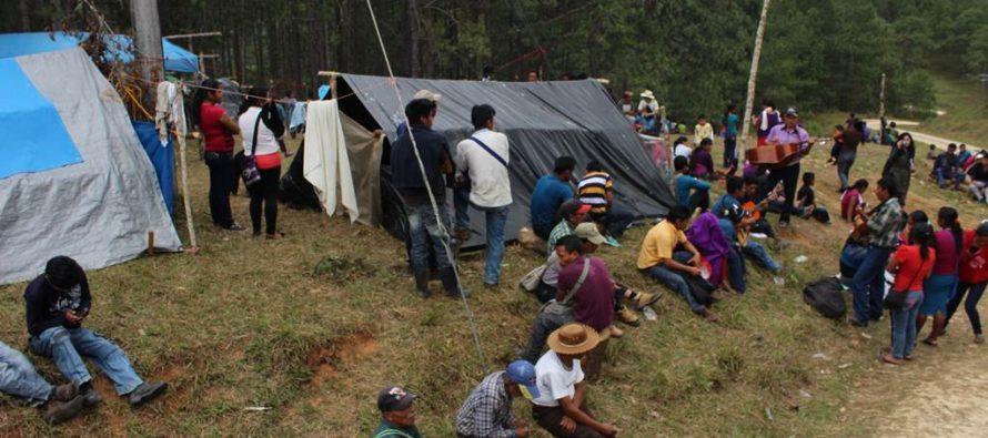 Más de 35 mil desplazados por violencia y crimen organizado en el país: Derechos Humanos