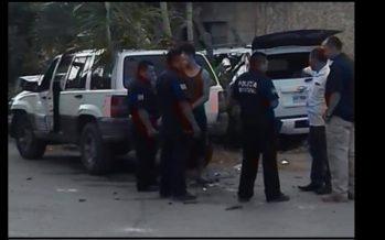 Sufre accidente Felipe Calderón en Quintana Roo