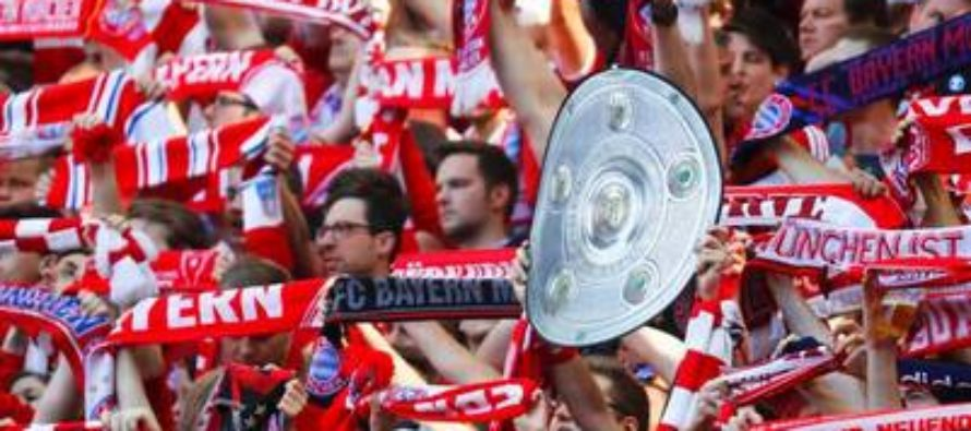 Bayern Munich, campeón de la Bundesliga por cuarta ocasión consecutiva