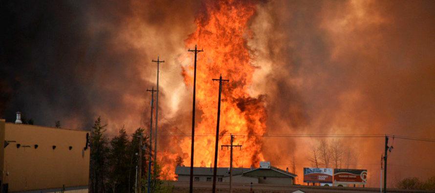 Incendio en Canadá ha arrasado más de 101,000 hectáreas de bosque