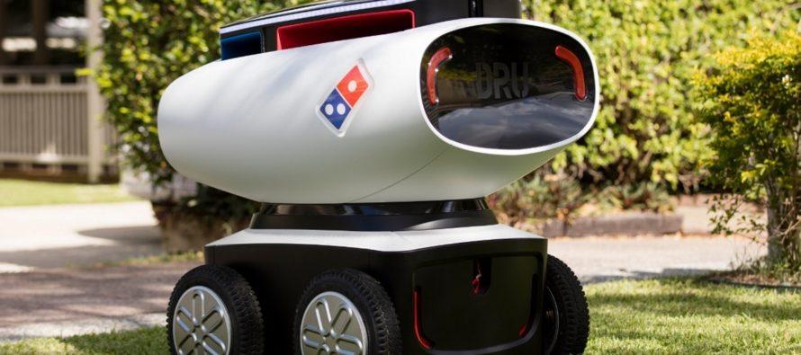 Australianos experimentan con la entrega de pizzas por medio de un robot repartidor