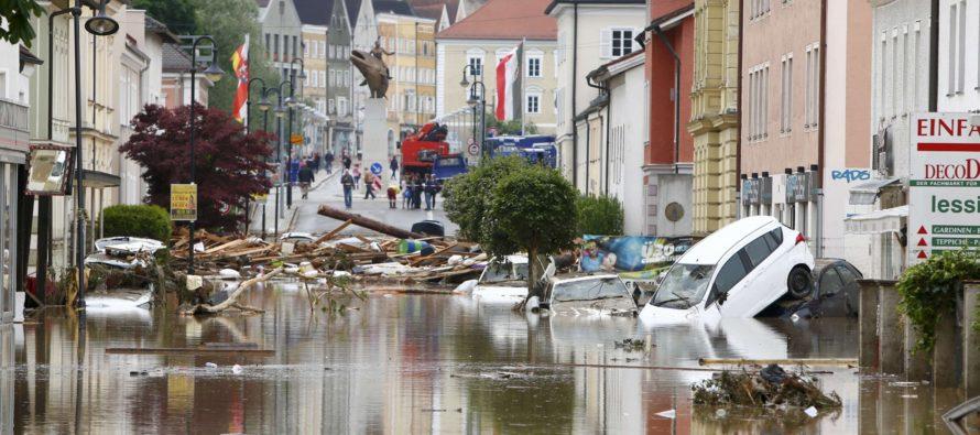 Ciudades de Europa se inundan por las fuertes lluvias