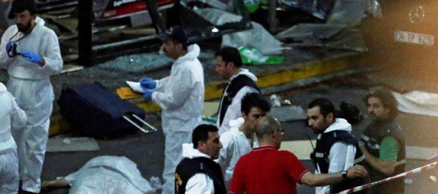Video de una de las explosiones que hasta ahora ha causado 41 muertos en atentado de aeropuerto de Estambul