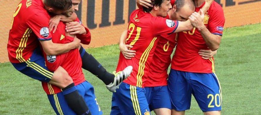 España vence de último momento a República Checa en la Eurocopa