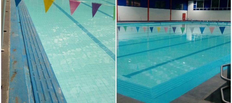 En sus marcas listos…¡Vamos a nadar!