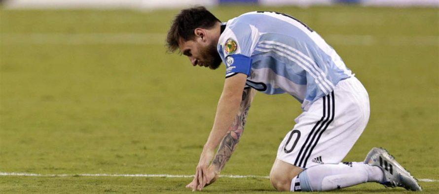 Messi anuncia su retiro tras la derrota de la selección argentina