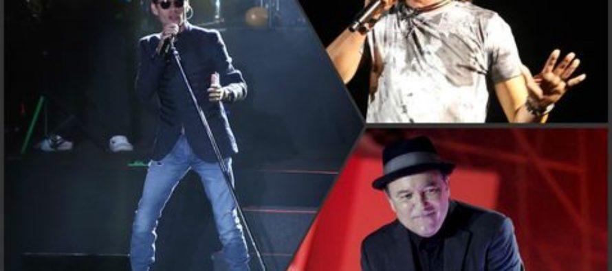 Triunfan Marc Anthony, Rubén Blades y Carlos Vives en el Zócalo capitalino