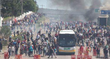 Personas ajenas a los bloqueos causaron disparos en Oaxaca: CNS; hubo al menos tres muertos