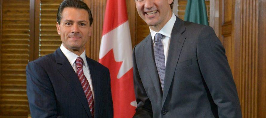 Primer ministro de Canadá anuncia que eliminarán la visa para los mexicanos