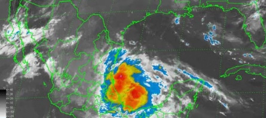 Alerta amarilla en Veracruz por la tormenta tropical Danielle