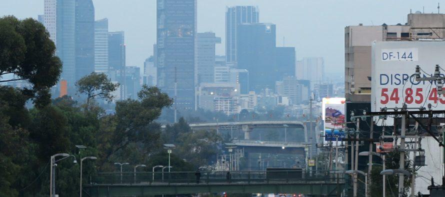 Regular calidad del aire se registra en la Ciudad de México