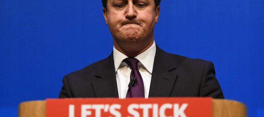 Cameron dimitirá en octubre tras la salida británica de la UE