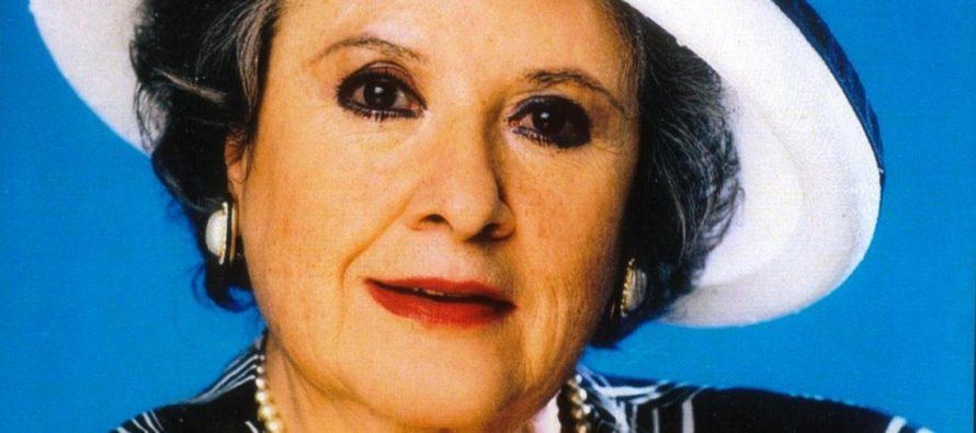 """Actriz Evita Muñoz """"Chachita"""" se encuentra estable en cuidados intensivos"""