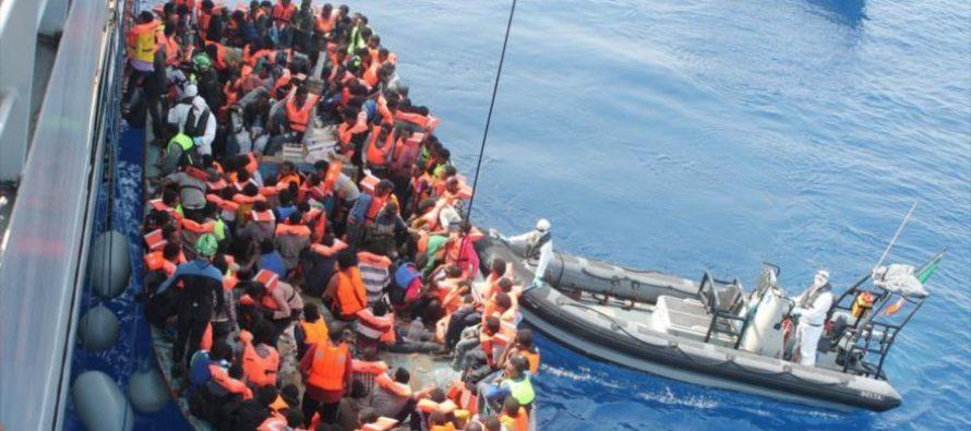 Rescata Guardia Costera italiana a 5 mil inmigrantes en el Canal de Sicilia