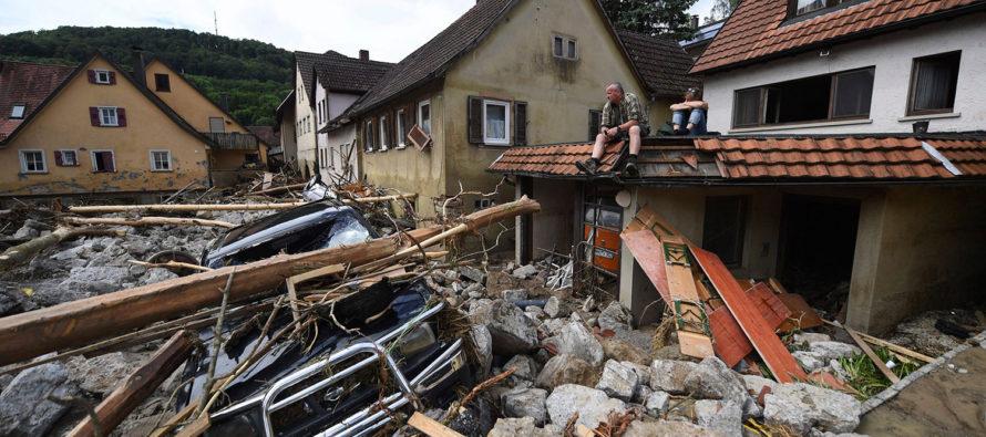 Suman once los muertos por inundaciones en el sur de Alemania