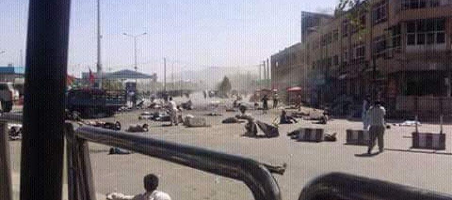 Ataque explosivo en Kabul deja al menos 80 muertos