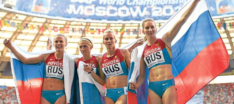 Por suspensión de atletas rusos, recurrirán al Comité de ética de la IAAF