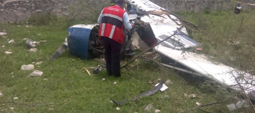 Avioneta se desploma en Jalisco