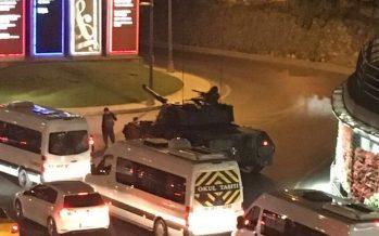 Intento de golpe de Estado se desarrolla en Turquía