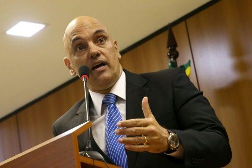 El ministro de Justicia Alexandre de Moraes