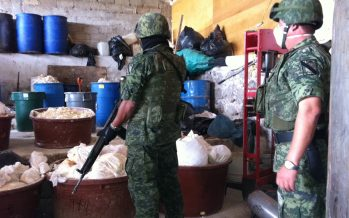 Ejército aseguró dos narco laboratorios en los límites entre Michoacán y Jalisco