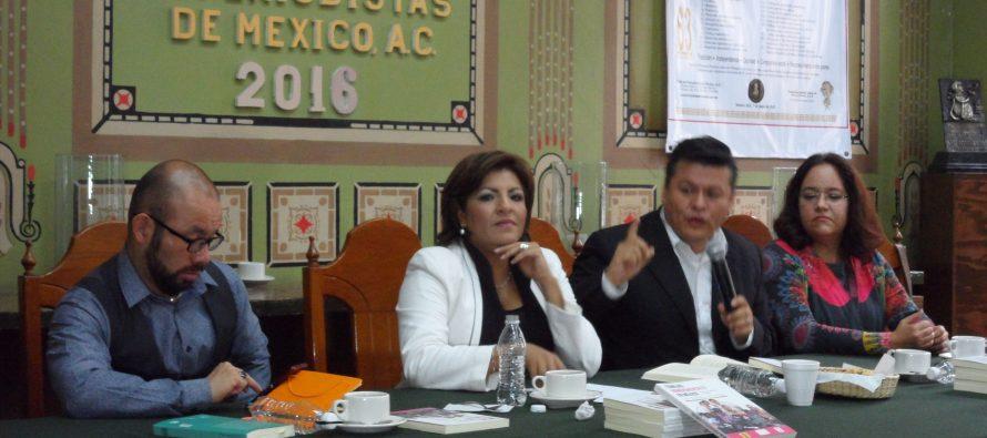 """Se presentó el libro """"Familias homoparentales en México"""" en el Club de Periodistas"""