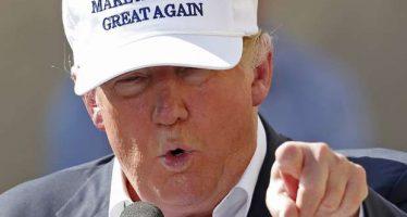 Trump propone en ex fábrica de New Hampshire revertir efectos del TLCAN