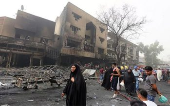 Un doble ataque terrorista causa más de 149 muertos en Bagdad