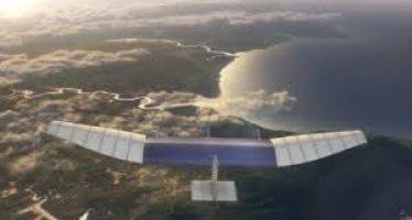 Aquila, el avión no tripulado de Facebook que con ayuda de eco tecnología dará acceso a Internet gratis.