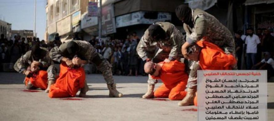El Estado Islámico decapita a cuatro futbolistas en Siria, acusados de espionaje