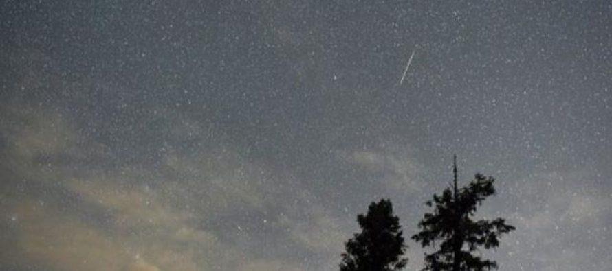 En las próximas noches se podrá ver una lluvia de meteoritos
