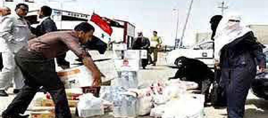 Llega a Siria ayuda humanitaria de las Naciones Unidas