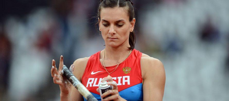 Isinbayeva irá a Derechos Humanos por marginación de equipo ruso de atletismo