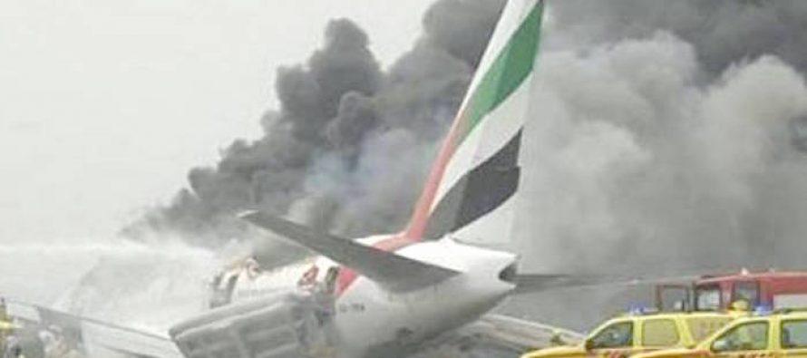 Se reanuda el tráfico en el aeropuerto de Dubái, tras incidente con avión