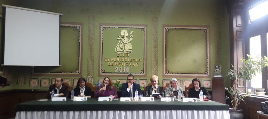 Se presentó el número 13 de la revista 'Criminogénesis' en el Club de Periodistas de México