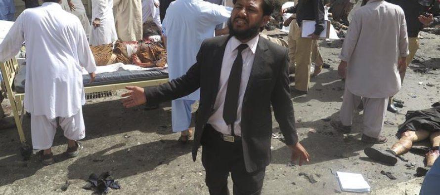 Hay 67 muertos tras ataque suicida en hospital de Pakistán; la mayoría eran abogados