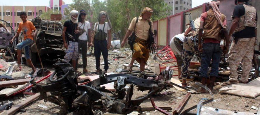 Atentado con coche bomba mata a al menos 54 reclutas en el sur de Yemen