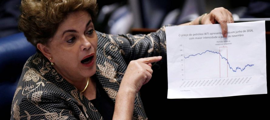 """Rousseff compareció ante senadores más de 10 horas; los llamó """"golpistas"""""""