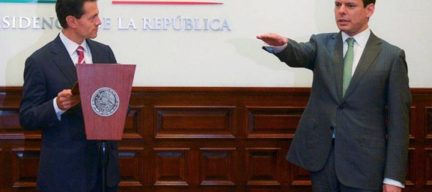 Peña Nieto designa a Jaime Francisco Hernández como nuevo titular de la CFE