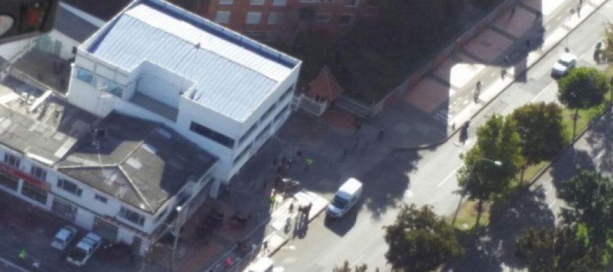 Registran tres explosiones en tres centros de salud de Bogotá