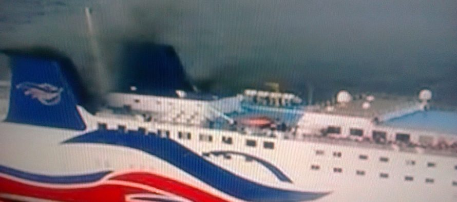 Incendio causa pánico en crucero con más de 500 pasajeros cerca de Puerto Rico
