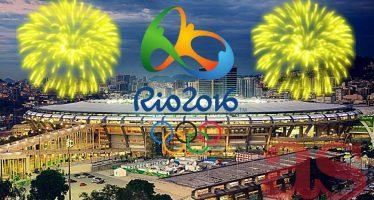 En el estadio de Maracaná se inauguraron los Juegos Olímpicos de Río 2016