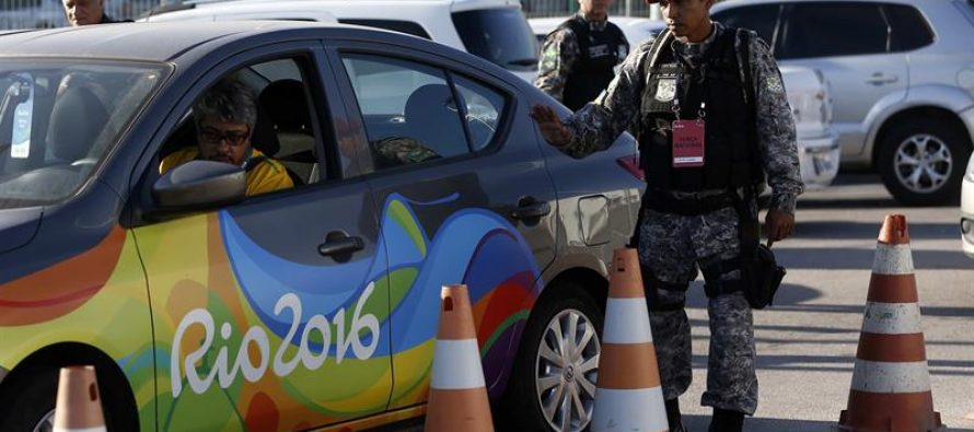 Extreman vigilancia en el Estadio Maracaná a horas de inauguración de los Juegos Olímpicos