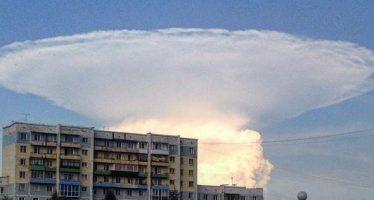 Nube en forma de hongo aterroriza y fascina a pobladores de Siberia