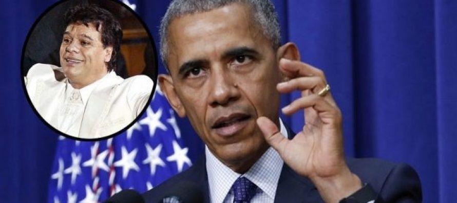 Barack Obama reconoce la música de Juan Gabriel