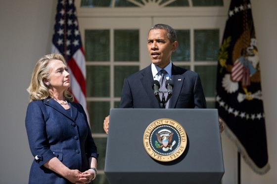 Obama y Hillary dieron conferencia sobre lo ocurrido en Bengasi