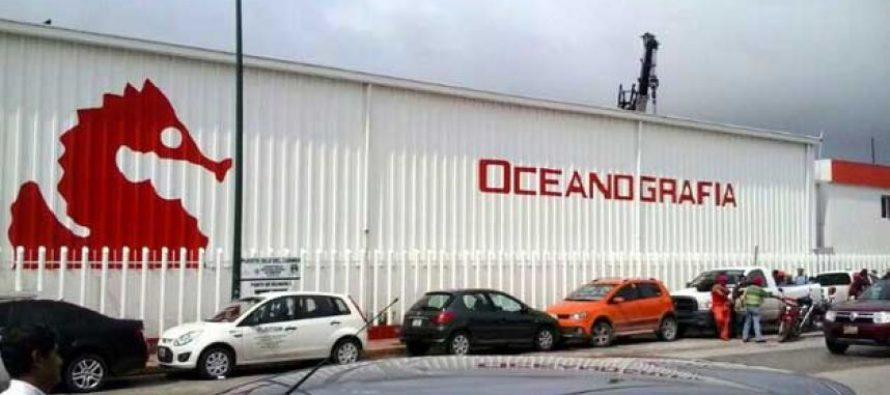 Juez declara en quiebra a la empresa Oceanografía