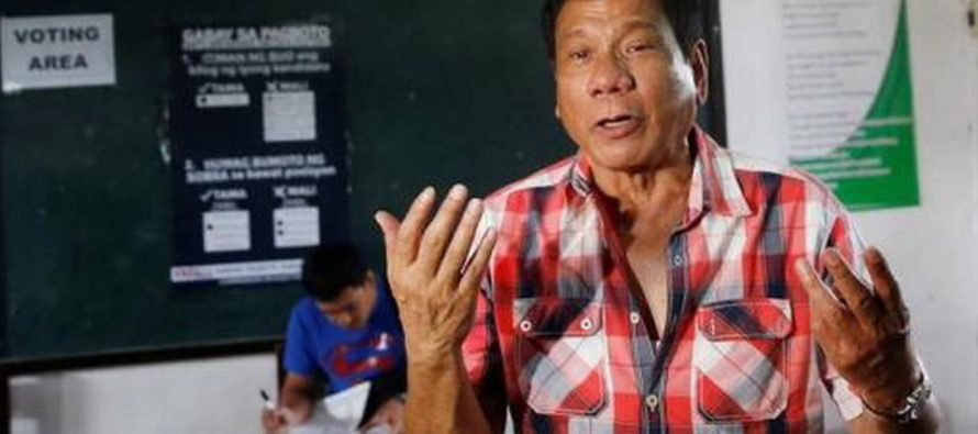 Cártel de Sinaloa opera en Filipinas, señala su presidente Duterte