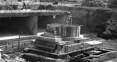 Hallan fotos de trabajos arqueológicos en la estación Pino Suárez del Metro
