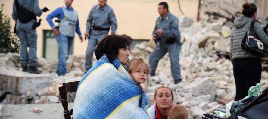 SRE investiga si hubo mexicanos en la zona del sismo italiano